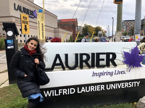 Residence and concert in Wilfried Laurier University, Ottawa