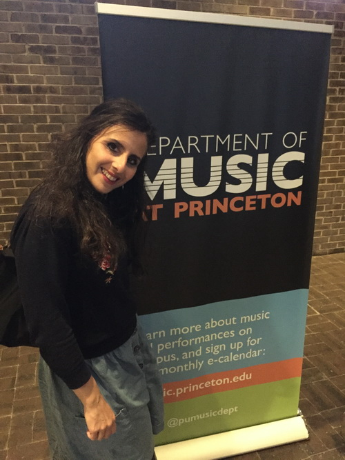 Residence and concert in Princeton University