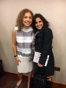 With Anousheh Ansari