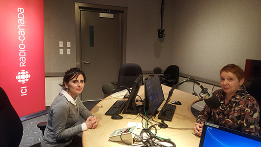 Radio Canada with Anne Boily